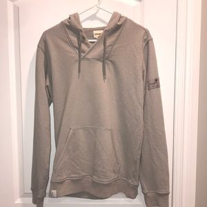 Diesel Grey Hoodie with front pouch